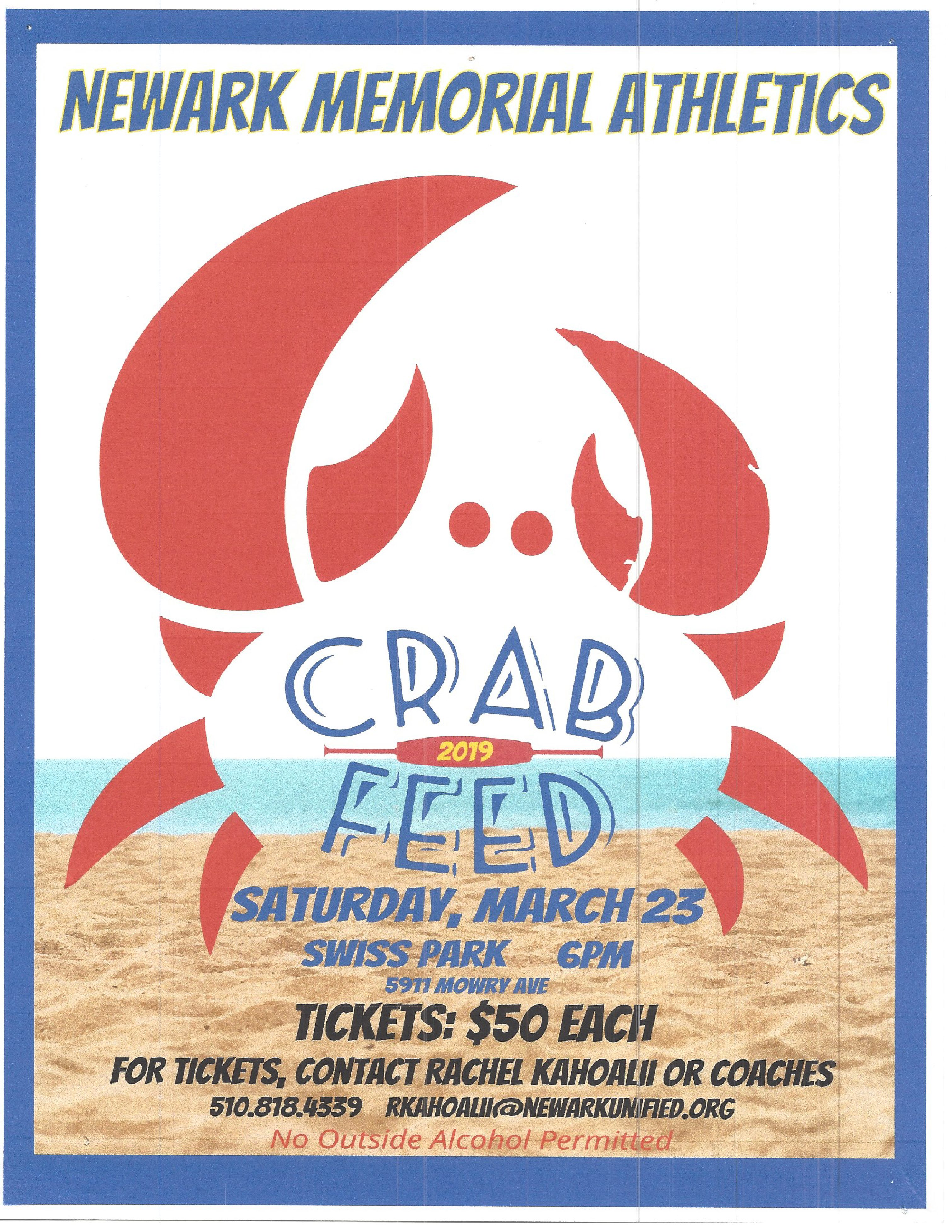 COUGAR CRAB FEED