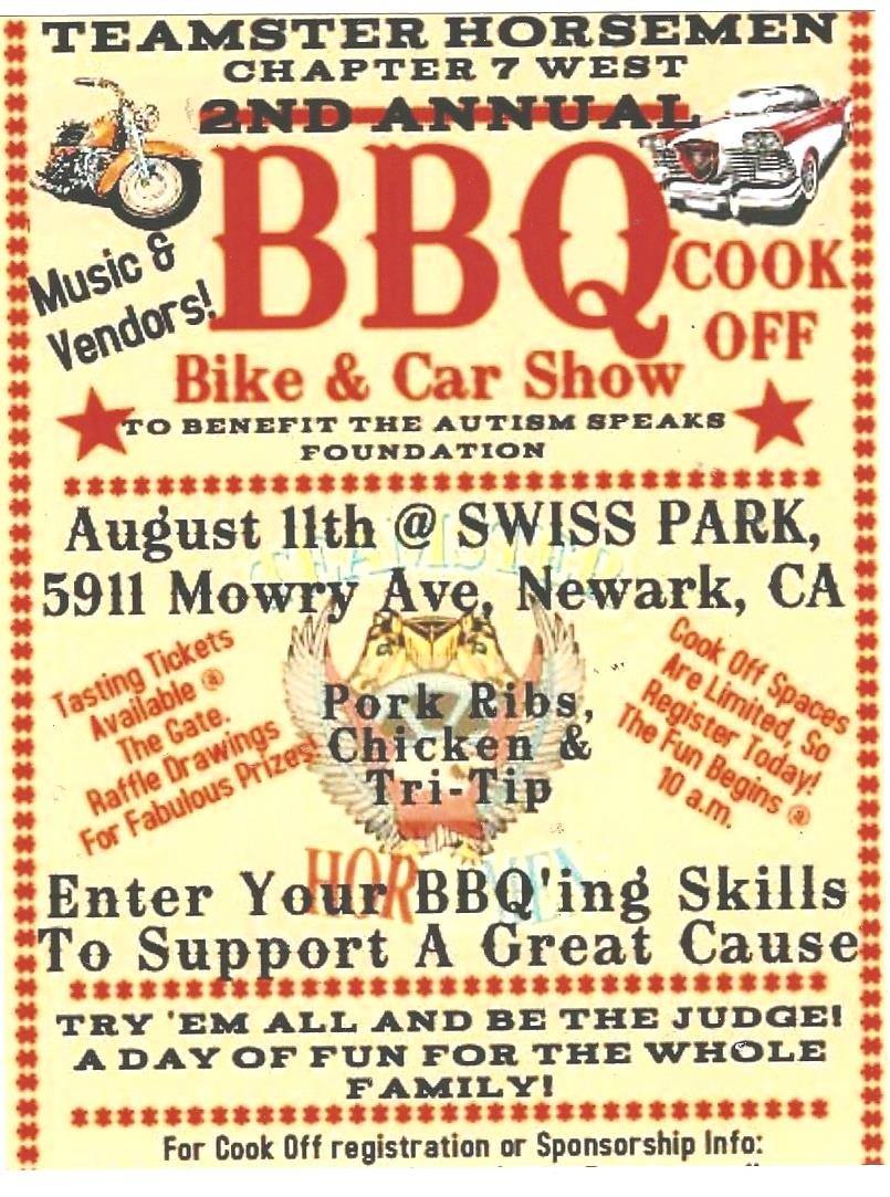 TEAMSTERS BBQ COOK-OFF